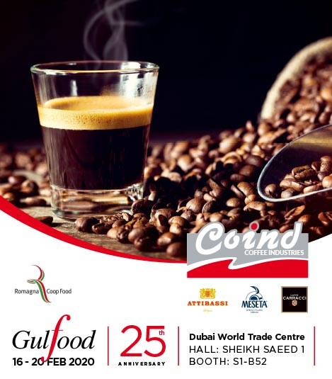 Coind with Romagna Coop Food at the GULFOOD Exhibition
